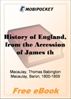 History of England, from the Accession of James the Second - Volume 5 for MobiPocket Reader