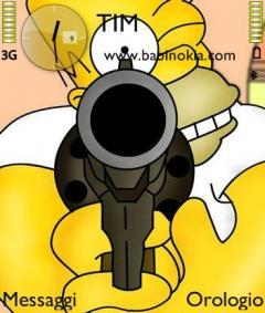 Homer Gun Theme