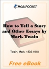 How to Tell a Story and Other Essays for MobiPocket Reader