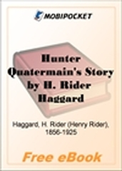 Hunter Quatermain's Story for MobiPocket Reader