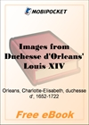 Images from Duchesse d'Orleans' Louis XIV for MobiPocket Reader