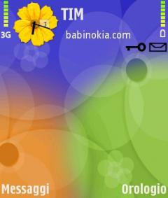 In Bloom Theme for Nokia N70/N90