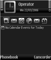 In Silver Theme for Nokia N70/N90