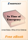 In Time of Emergency for MobiPocket Reader