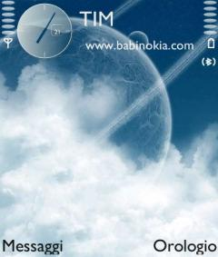 In the Sky Theme for Nokia N70/N90