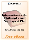Introduction to the Philosophy and Writings of Plato for MobiPocket Reader