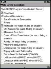 J2ME OGC WMS Client