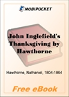 John Inglefield's Thanksgiving for MobiPocket Reader
