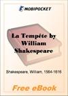 La Tempete for MobiPocket Reader