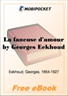La faneuse d'amour for MobiPocket Reader