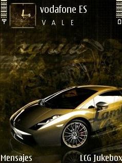 Lamborghini QVGA Theme