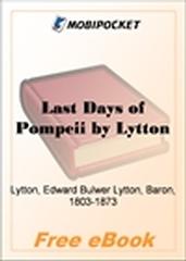 Last Days of Pompeii for MobiPocket Reader