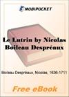Le Lutrin for MobiPocket Reader