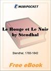 Le Rouge et Le Noir for MobiPocket Reader