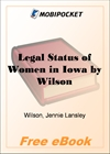 Legal Status of Women in Iowa for MobiPocket Reader