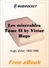 Les miserables, Tome II for MobiPocket Reader