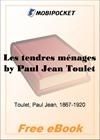Les tendres menages for MobiPocket Reader