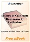 Letters of Catherine Benincasa for MobiPocket Reader