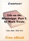 Life on the Mississippi, Part 7 for MobiPocket Reader