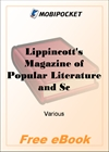 Lippincott's Magazine of Popular Literature and Science Volume 17, No. 102, June, 1876 for MobiPocket Reader