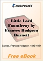 Little Lord Fauntleroy for MobiPocket Reader