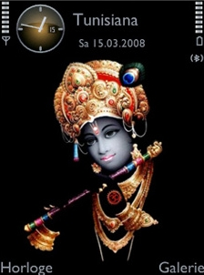 Lord Krishna Theme