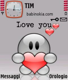 Love You Theme for Nokia N70/N90