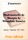 Mademoiselle de Maupin for MobiPocket Reader