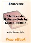 Malta en de Maltezer Orde for MobiPocket Reader