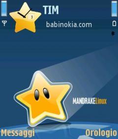 Mandrake Linux Theme for Nokia N70/N90