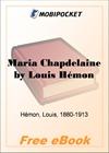 Maria Chapdelaine for MobiPocket Reader