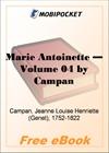 Marie Antoinette - Volume 04 for MobiPocket Reader