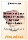Memoir of Jane Austen for MobiPocket Reader