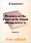 Memoirs of the Court of St. Cloud, Volume 6 for MobiPocket Reader