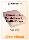 Memorie del Presbiterio for MobiPocket Reader