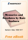 Memories and Anecdotes for MobiPocket Reader