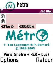 MetrO (S60 1st/2nd Edition)