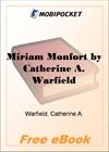 Miriam Monfort for MobiPocket Reader