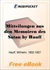 Mitteilungen aus den Memoiren des Satan for MobiPocket Reader
