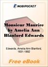 Monsieur Maurice for MobiPocket Reader