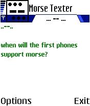 Morse Texter