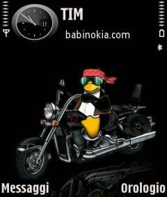 Moto Tux Theme