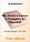 Mr. Crewe's Career - Complete for MobiPocket Reader