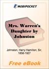 Mrs. Warren's Daughter for MobiPocket Reader