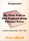 My First Visit to New England for MobiPocket Reader