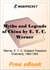 Myths and Legends of China for MobiPocket Reader