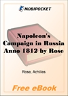 Napoleon's Campaign in Russia Anno 1812 for MobiPocket Reader