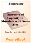 Narrative of Captivity in Abyssinia for MobiPocket Reader