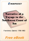 Narrative of a Voyage to the Northwest Coast of America for MobiPocket Reader