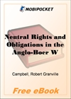 Neutral Rights and Obligations in the Anglo-Boer War for MobiPocket Reader